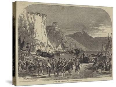 Scene from Masaniello, at the Royal Italian Opera--Stretched Canvas Print