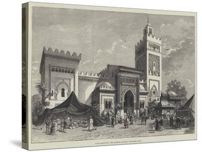 Paris Exhibition, the Algerine Pavilion, Trocadero Park--Stretched Canvas Print