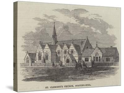 St Clement's Church, Notting-Hill--Stretched Canvas Print