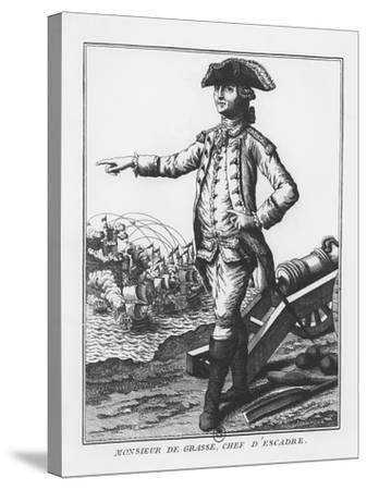 François-Joseph Paul, Comte De Grasse--Stretched Canvas Print