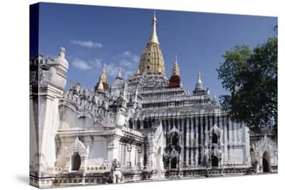 Ananda Temple, Bagan (Pagan), Myanmar (Burma), 11th Century--Stretched Canvas Print