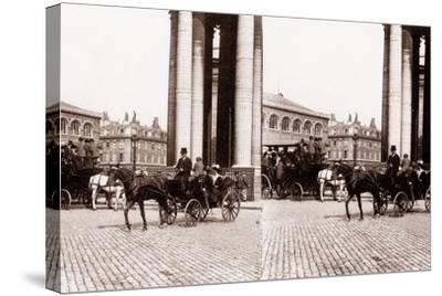 Stereoscopic View of the Panthéon, Paris, 1890--Stretched Canvas Print