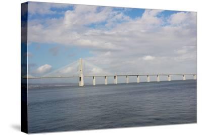 Portugal, Lisbon, the Vasco Da Gama Bridge, Built in 1995--Stretched Canvas Print