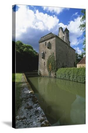 Chateau of Thenissey, Founded in 15th Century, Burgundy, France--Stretched Canvas Print