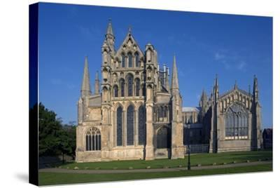 Ely Cathedral (1085), Cambdridgeshire, United Kingdom--Stretched Canvas Print