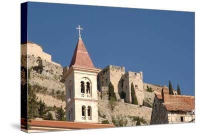 Klis Fortress, Near Split (Split), Dalmatia, Croatia--Stretched Canvas Print