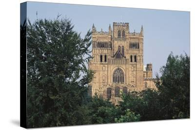 Durham Cathedral, Founded in 1093, United Kingdom--Stretched Canvas Print