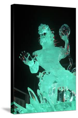 Ice Sculpture, Sapporo, Japan--Stretched Canvas Print