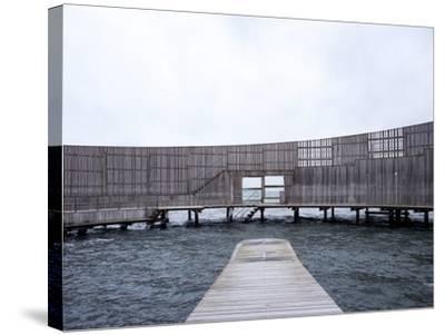 Kastrup Sea Baths, Kastrup, Copenhagen, Denmark--Stretched Canvas Print