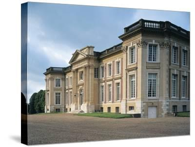 Facade of a Castle, Belbeuf, Haute-Normandy, France--Stretched Canvas Print