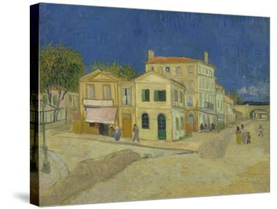 The Yellow House, 1888-Vincent van Gogh-Stretched Canvas Print