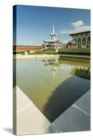 Gazebo with a Fountain in the Rabat Fortress-Richard Nowitz-Stretched Canvas Print