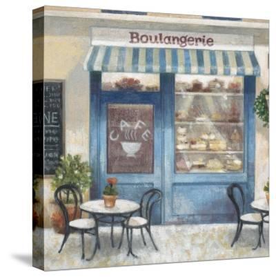 Café Impressions 4-Norman Wyatt Jr^-Stretched Canvas Print