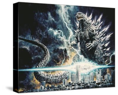 Godzilla: The Series--Stretched Canvas Print