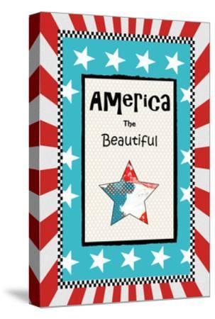 America the Beautiful-Sarah Ogren-Stretched Canvas Print