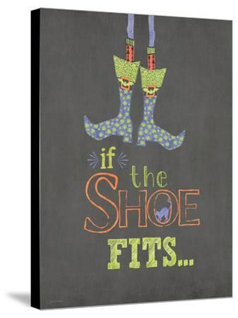 If the Shoe Fits-Jo Moulton-Stretched Canvas Print