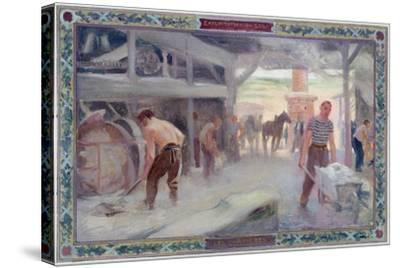 Use of the Sun: the Carriers, 1892- A.F. Gorguet &  E.de Bonnencontre-Stretched Canvas Print
