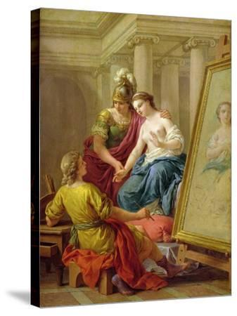 Apelles in Love with the Mistress of Alexander, 1772-Louis Jean Francois I Lagrenee-Stretched Canvas Print