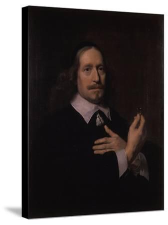 Portrait of a Man-Bartolomeus Van Der Helst-Stretched Canvas Print