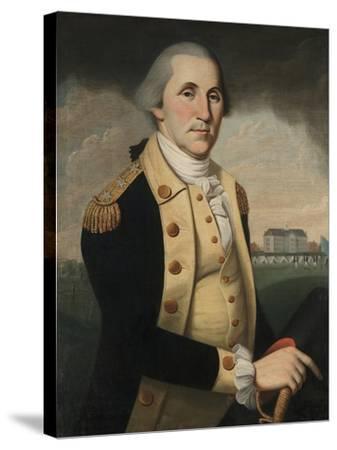 George Washington, 1790-93-Charles Peale Polk-Stretched Canvas Print