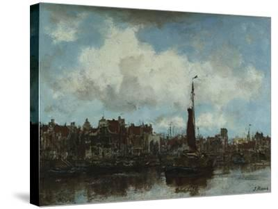 A View of Amsterdam-Jacob Henricus Maris-Stretched Canvas Print