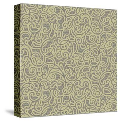 Sheer Romance Scroll I-Katia Hoffman-Stretched Canvas Print