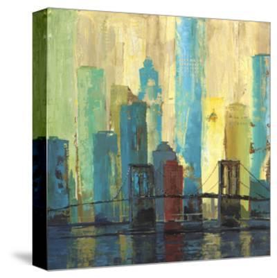 City Connection II-Julie Joy-Stretched Canvas Print