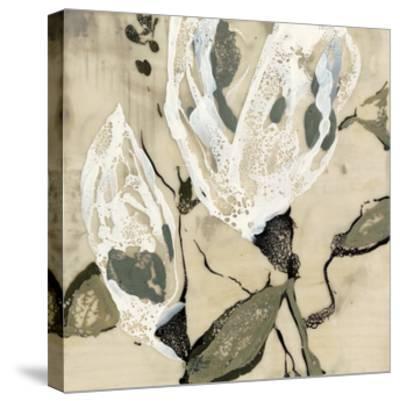 Flower Pods II-Jennifer Goldberger-Stretched Canvas Print