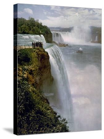 Niagara Falls from Prospect Point--Stretched Canvas Print