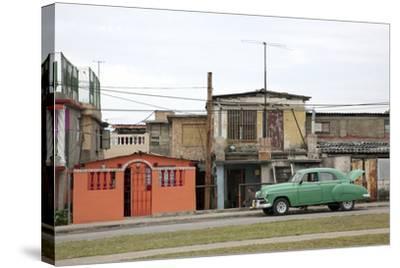 Vintage Cars-Carol Highsmith-Stretched Canvas Print