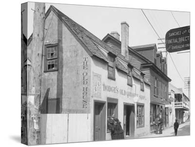 Old Curiosity Shop, St. Augustine, Fla.--Stretched Canvas Print