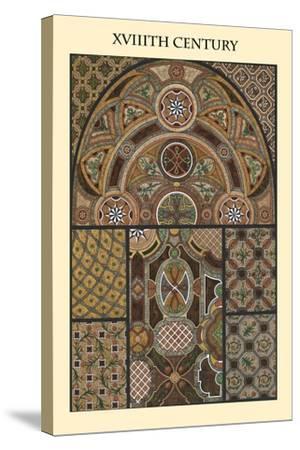 Ornament-XVIIIth Century-Racinet-Stretched Canvas Print