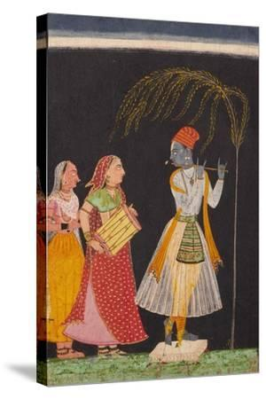 Lahula Ragaputra, Son of Dipak Raga--Stretched Canvas Print