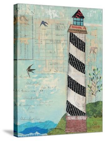 Coastal Lighthouse II-Courtney Prahl-Stretched Canvas Print