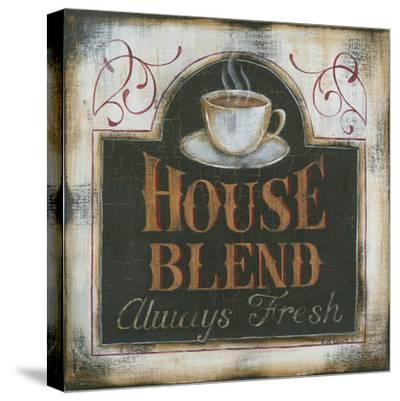 House Blend Always Fresh-Kim Lewis-Stretched Canvas Print