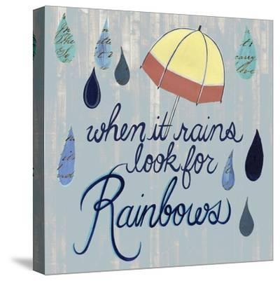 Rainy Day I-Grace Popp-Stretched Canvas Print