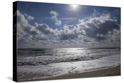 Breaking Surf at Assateague Island National Seashore-Scott Warren-Stretched Canvas Print