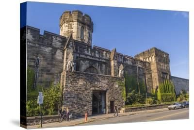 The Gothic Style Eastern State Penitentiary Built in the Early 19th Century in Philadelphia-Richard Nowitz-Stretched Canvas Print