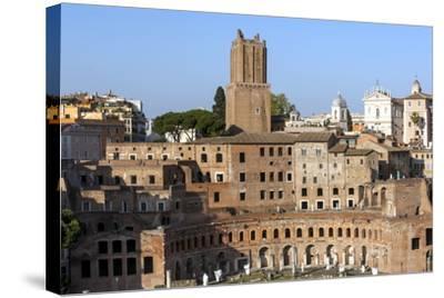 Trajans Markets, Ancient Rome, Rome, Lazio, Italy-James Emmerson-Stretched Canvas Print