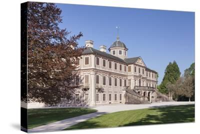 Schloss Favorite Castle, Rastatt, Black Forest, Baden-Wurttemberg, Germany, Europe-Markus Lange-Stretched Canvas Print