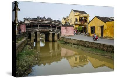 Japanese Covered Bridge, Hoi An, UNESCO World Heritage Site, Vietnam, Indochina-Yadid Levy-Stretched Canvas Print
