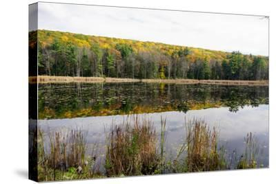 Lake Near Great Barrington, the Berkshires, Massachusetts-Robert Harding-Stretched Canvas Print