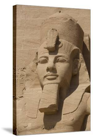 Ramses Ii, Sun Temple, Abu Simbel, Egypt, North Africa, Africa-Richard Maschmeyer-Stretched Canvas Print