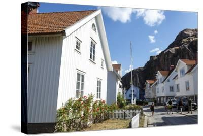 Houses in Fjallbacka, Bohuslan Region, West Coast, Sweden, Scandinavia, Europe-Yadid Levy-Stretched Canvas Print