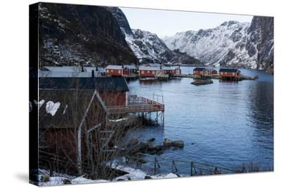 Nusfjord, Lofoten Islands, Arctic, Norway, Scandinavia-Sergio Pitamitz-Stretched Canvas Print