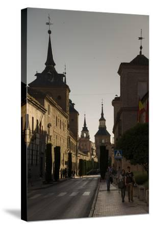 Alcala De Henares, Province of Madrid, Spain-Michael Snell-Stretched Canvas Print