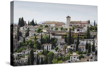 Granada, Province of Granada, Andalusia, Spain-Michael Snell-Stretched Canvas Print