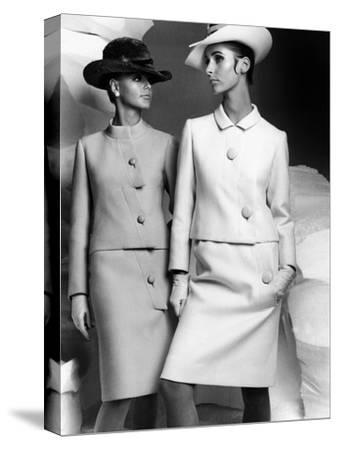 Lanvin Fashion for Autumn-Winter Collection 1966--Stretched Canvas Print