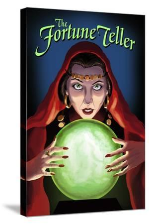 The Fortune Teller-Lantern Press-Stretched Canvas Print
