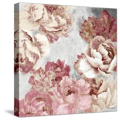Florals in Pink and Cream-Lanie Loreth-Stretched Canvas Print